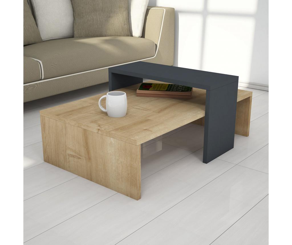 Stolić za kavu Glow Sapphire Anthracite
