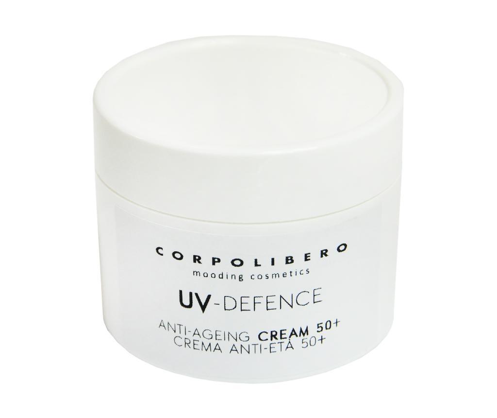 Krema proti staranju kože za zaščito pred soncem SPF 50 UV Defence 50 ml