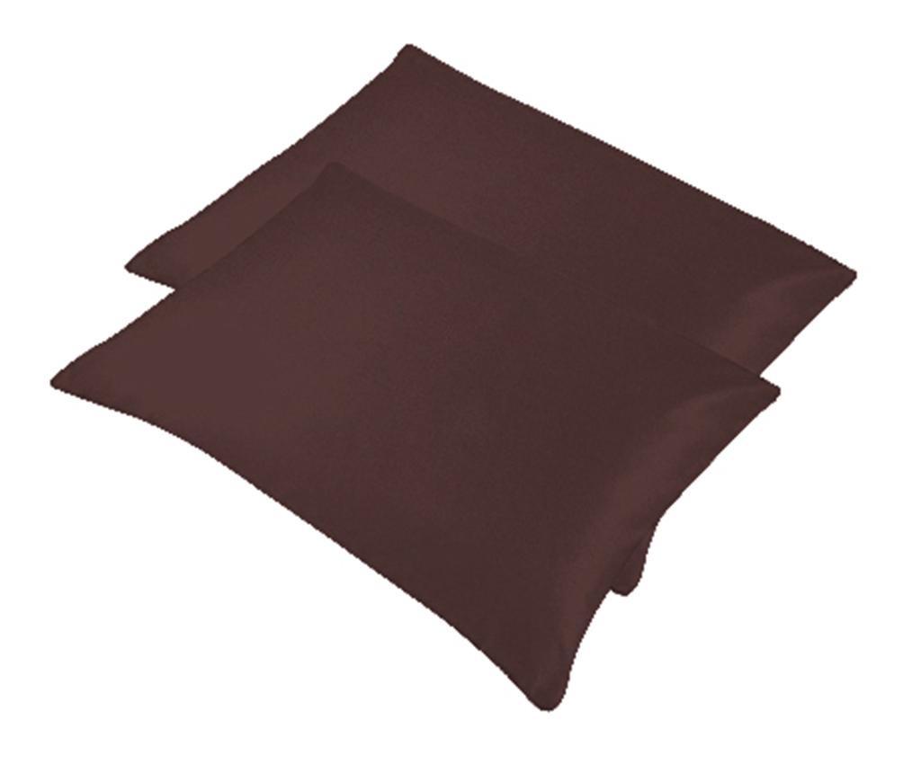 Set 2 jastučnice Bogo Dark Brown 50x70 cm