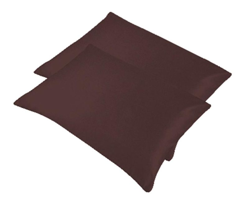 Set 2 prevlek za vzglavnik Bogo Dark Brown 50x70 cm