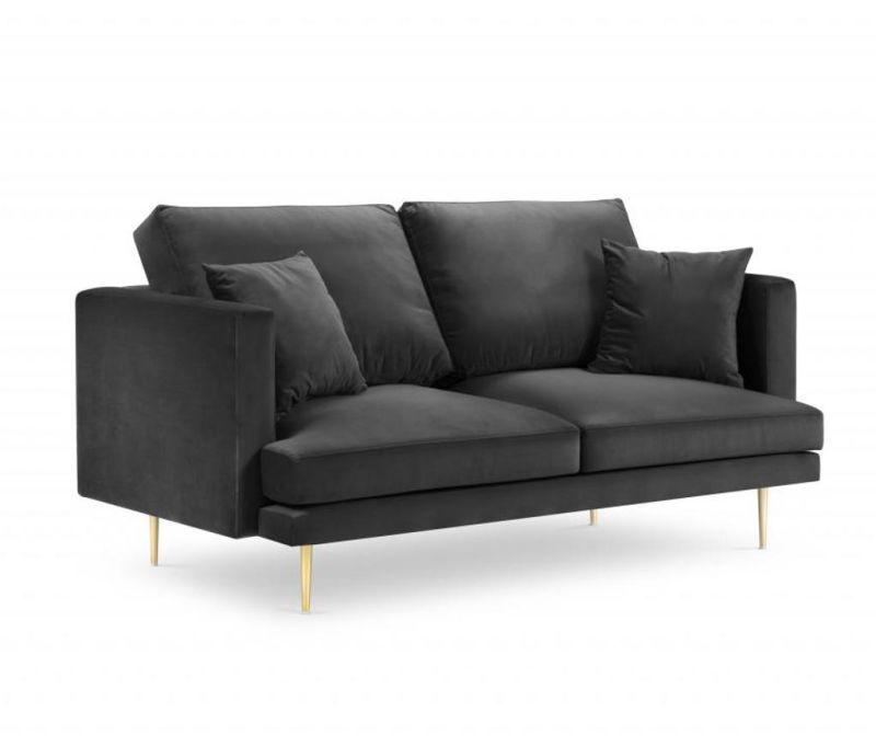 Sofa cu 2 locuri Brunello Dark Grey