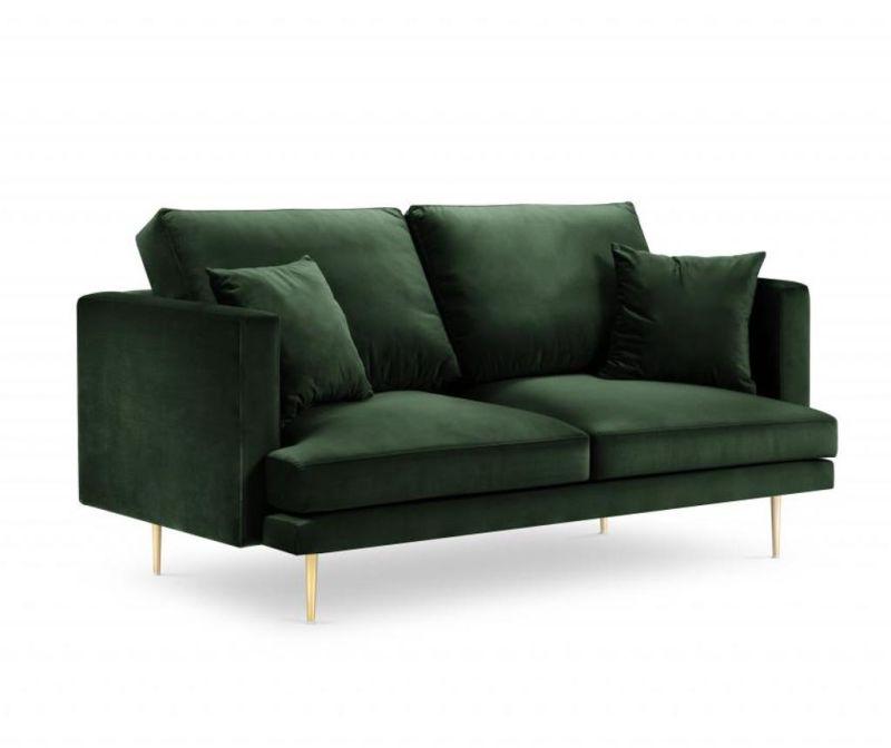 Sofa cu 2 locuri Brunello Bottle Green