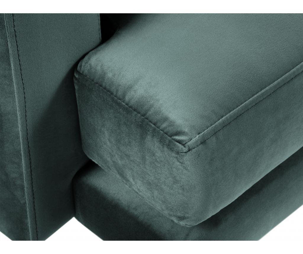 Sofa cu 2 locuri Brunello Petrol