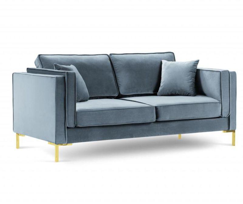 Sofa cu 2 locuri Giuseppe Light Blue