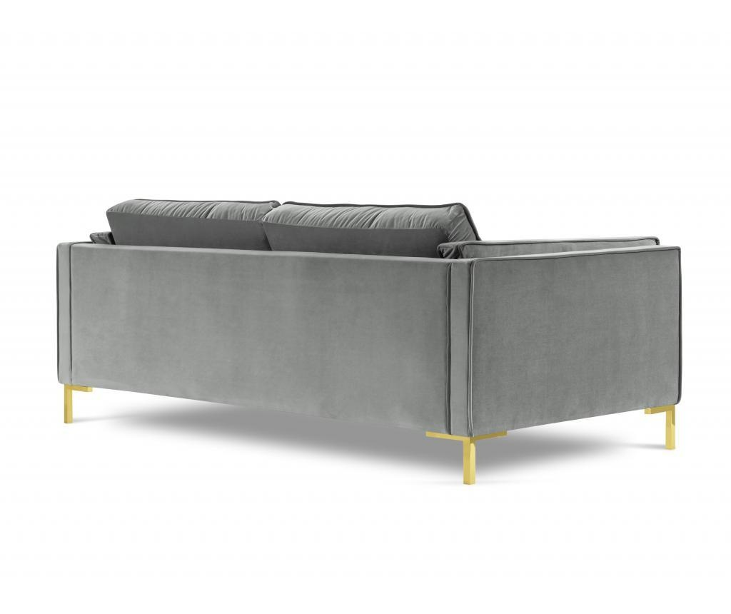 Sofa cu 4 locuri Giuseppe Light Grey