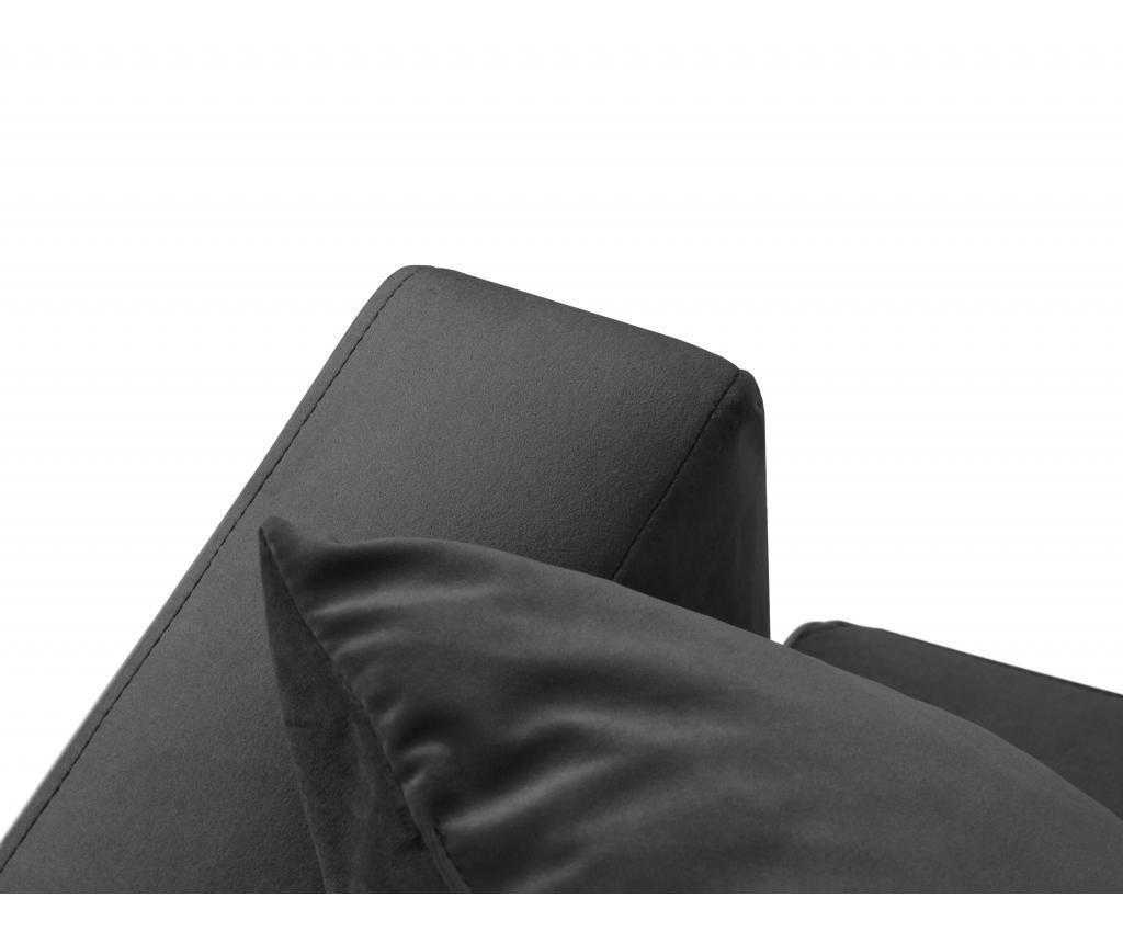 Coltar stanga Brunello Dark Grey