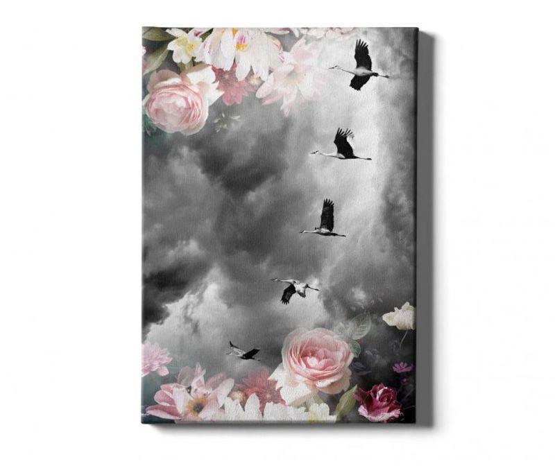 Slika Birds-Flower 40x60 cm