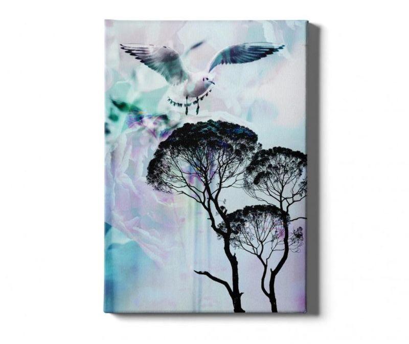 Slika Tree-Bird 40x60 cm
