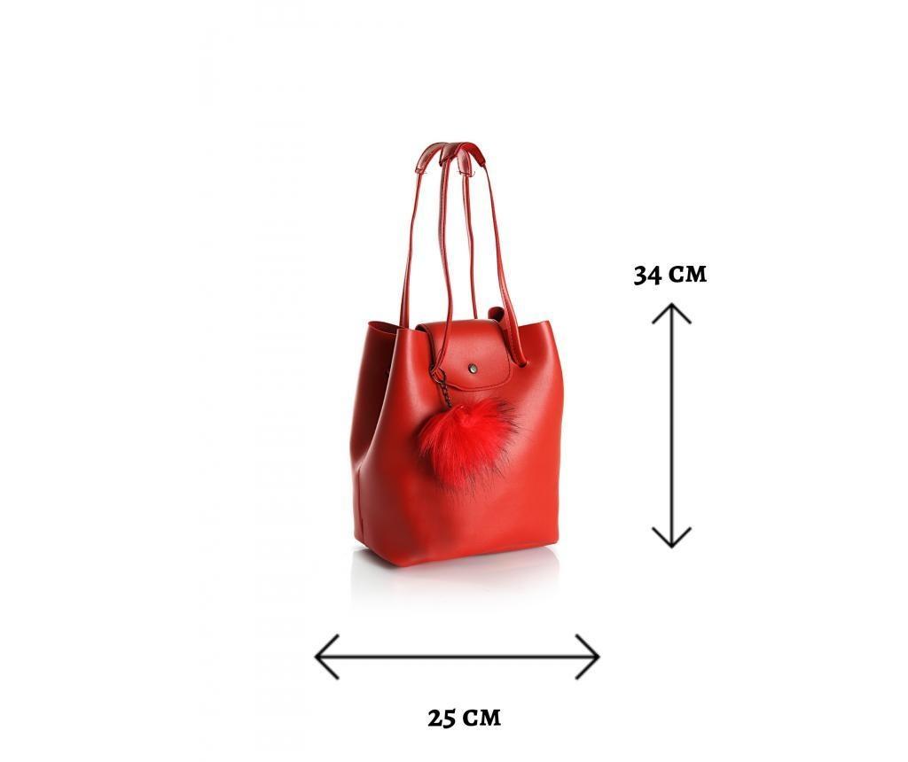 Чанта Polonation Red