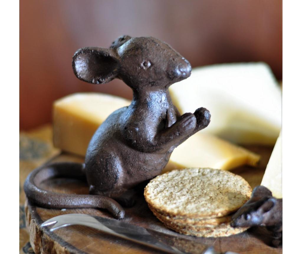 Mouse Sitting Kerti dísztárgy