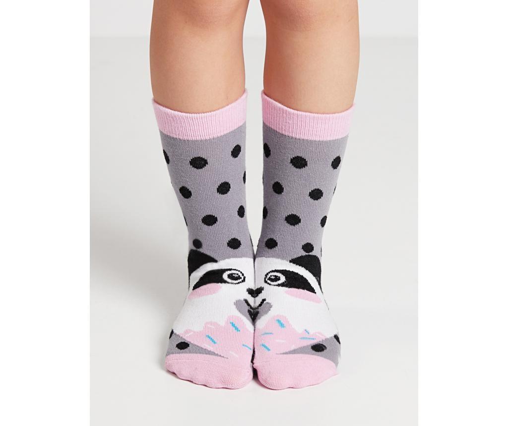 Set 2 para dječjih čarapa Panda&Cream 6-7 god.