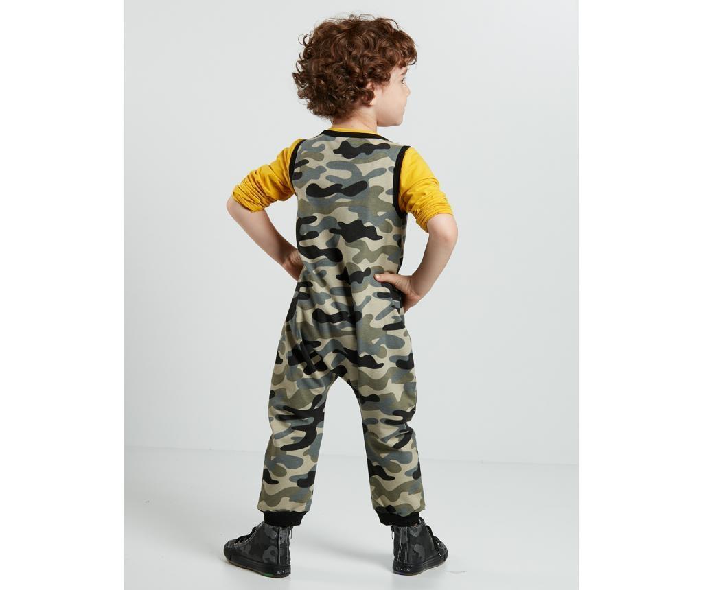 Salopeta copii Soldier Dino 5 ani