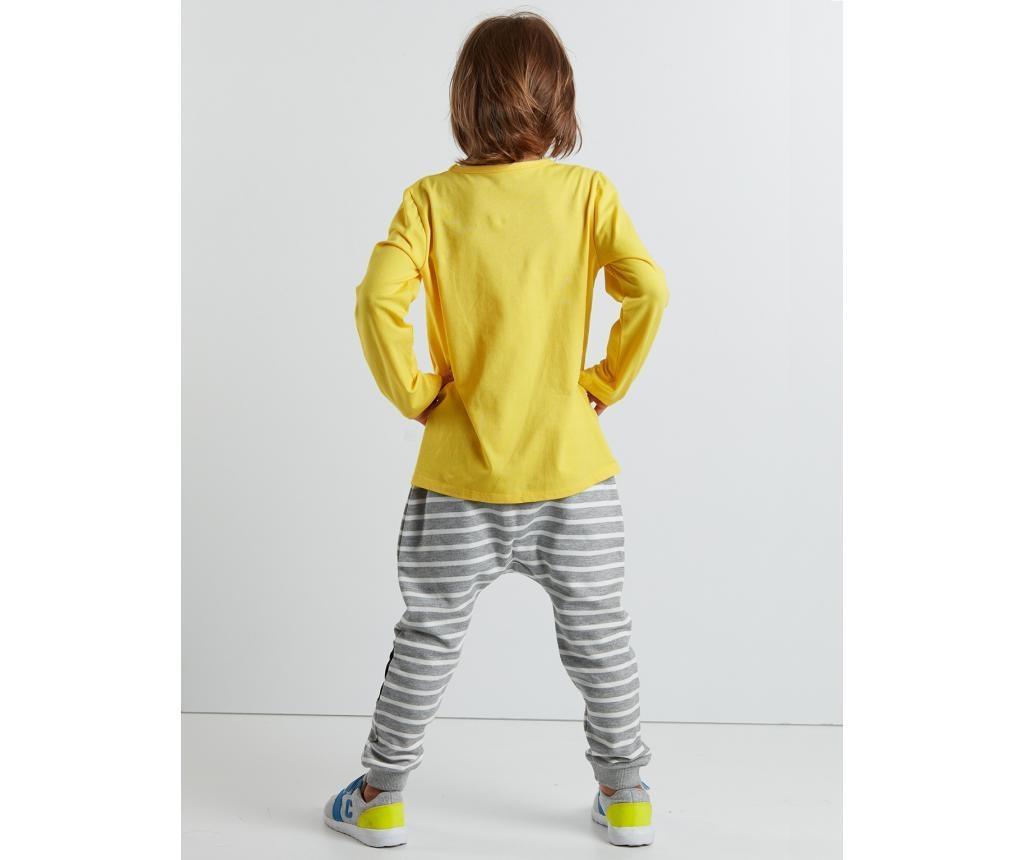 Set bluza si pantaloni pentru copii Mr Glasses 8 ani
