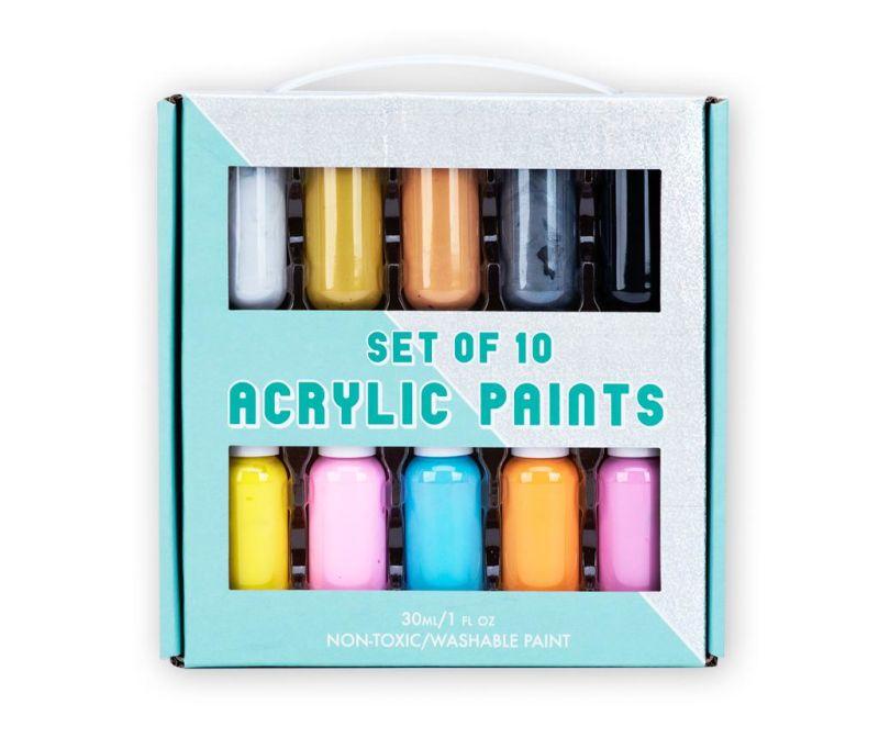 5-delni set akrilnih barv