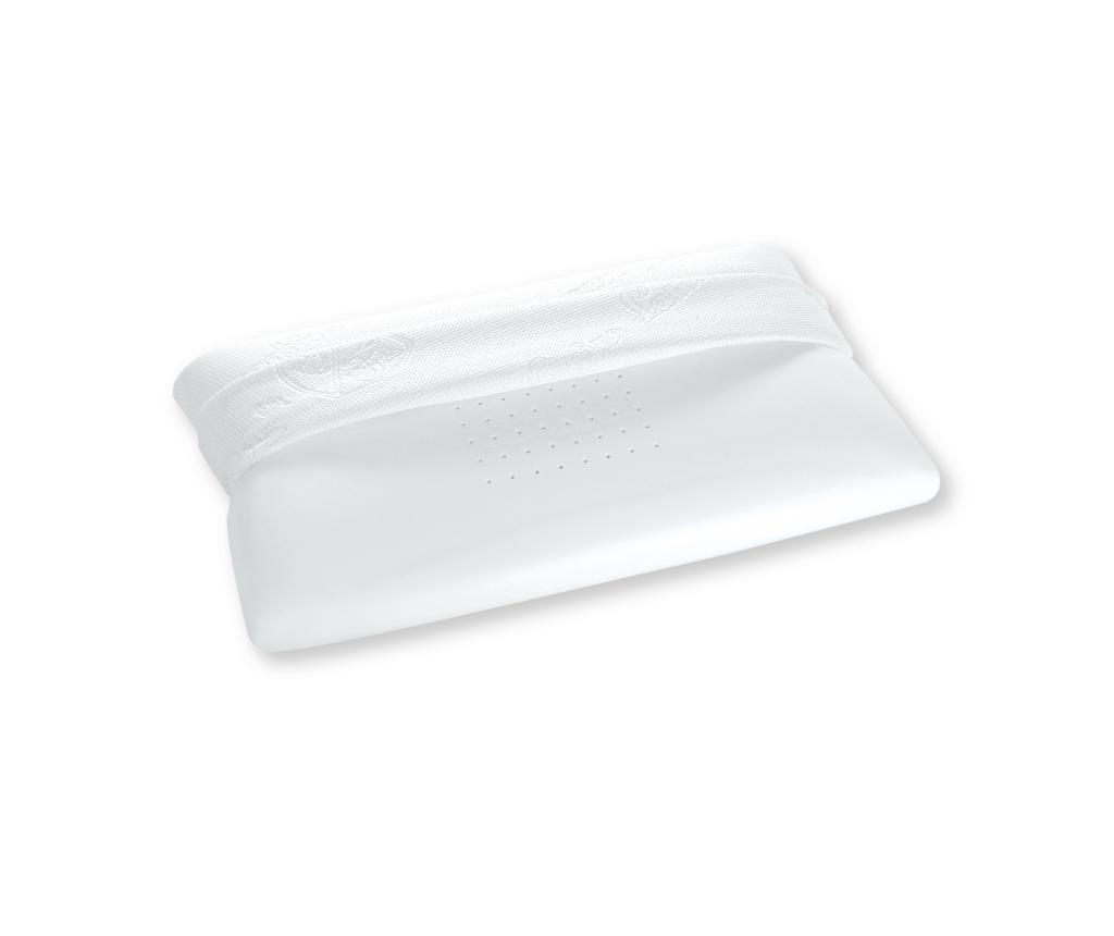 Jastuk od memorijske pjene Magniflex Tonino White by Tonino Lamborghini 42x70 cm