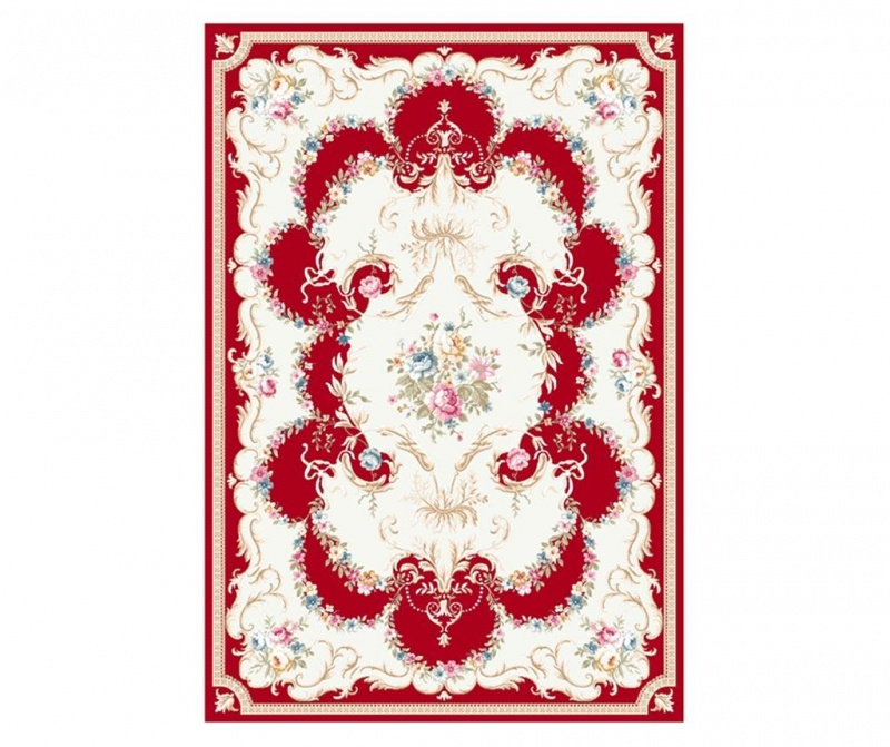 Covor Elizabeth Red 100x200 cm