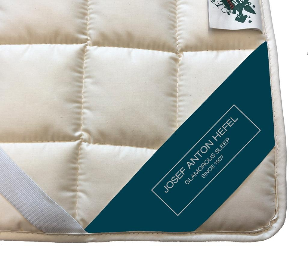 Nadmadrac Organic Cotton 160x200 cm