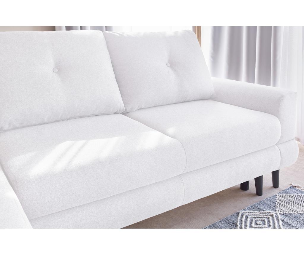 Lijeva kutna garnitura Calanque White
