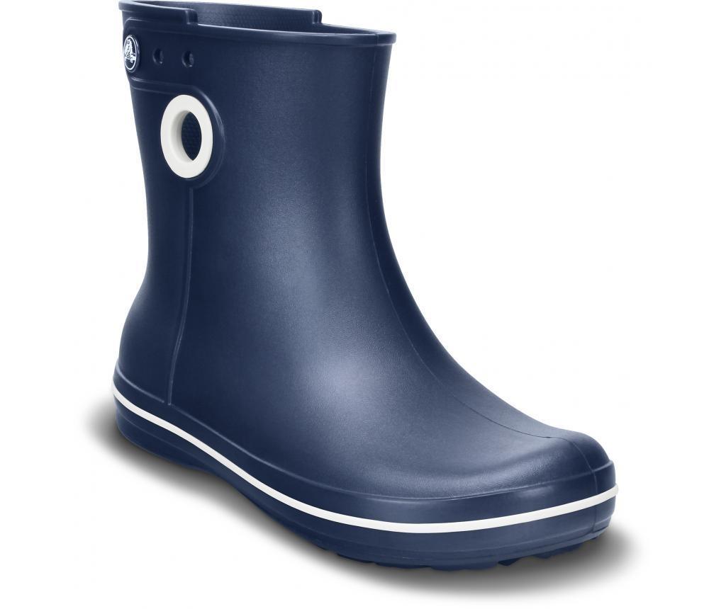 Otroški dežni škornji Crocs Jaunt Shorty Boot W Blue 38-39