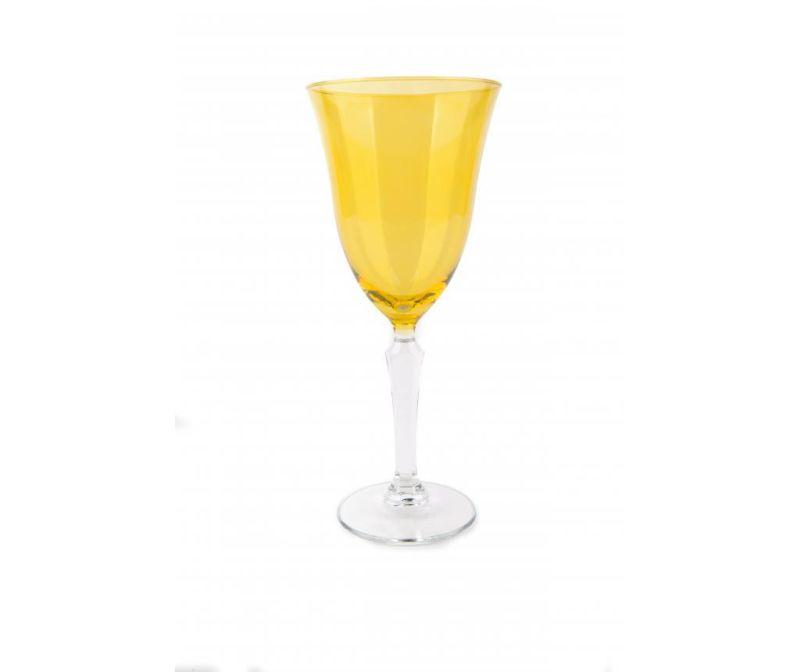 Čaša s nogom Crystal Wine Yellow 320 ml