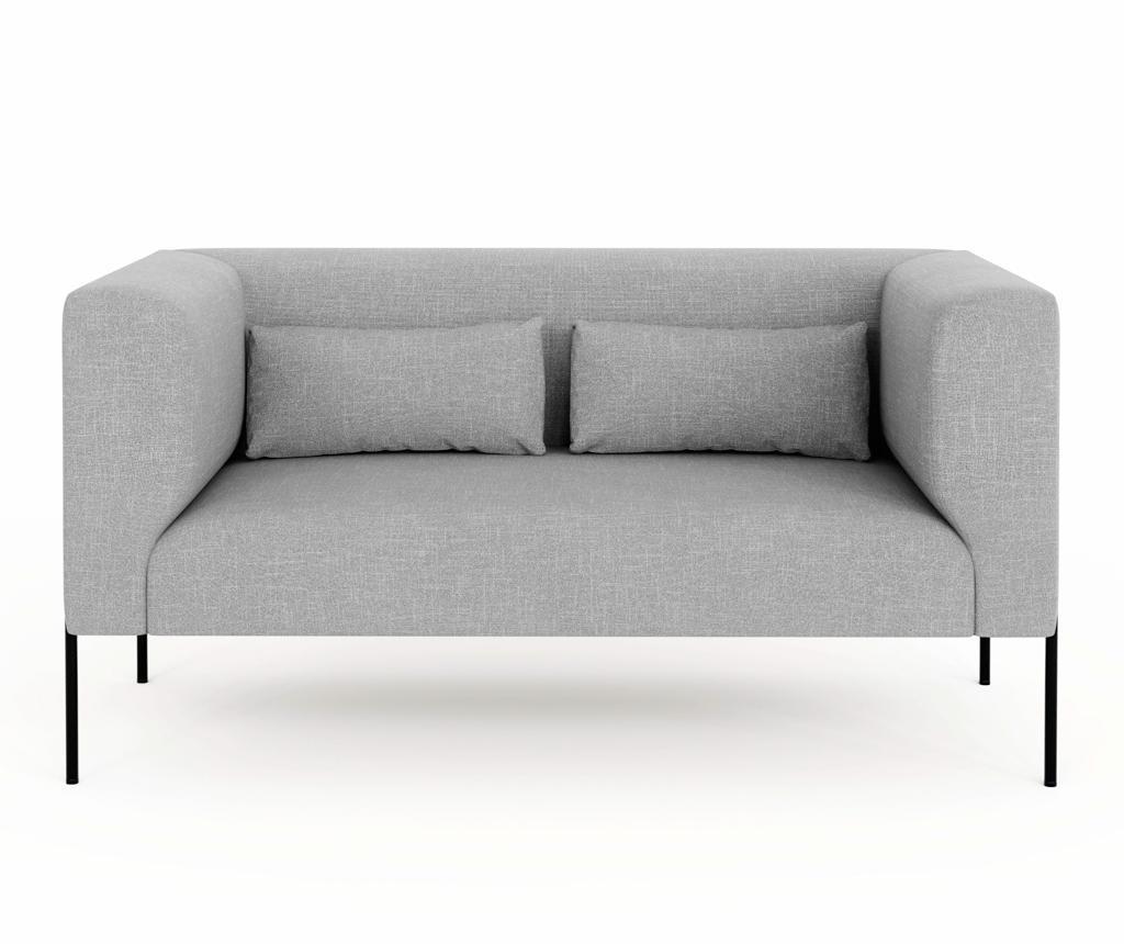 Sofa dvosjed Nina Light Grey
