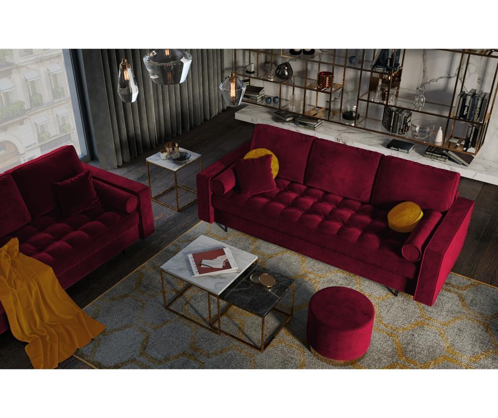 Kauč trosjed na razvlačenje Romeo Red