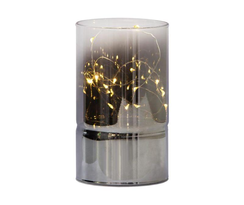 Fenjer s LED svjetlom Mirror Tube