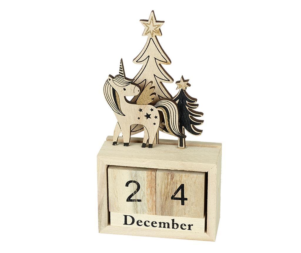 Dekoracija Unicorn Countdown
