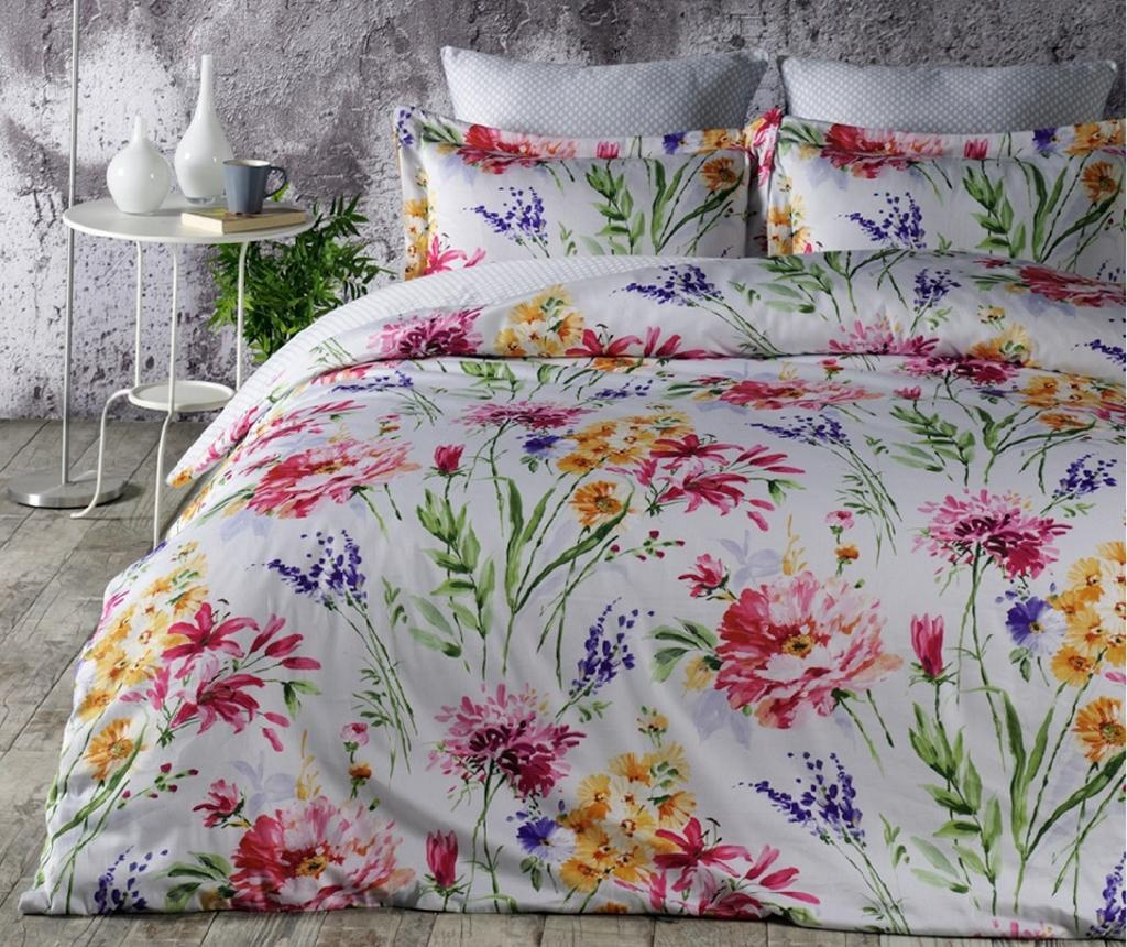 Set posteljina King Satin Supreme Flore