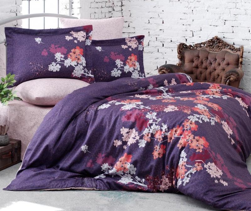 Set posteljina King Satin Supreme Chery