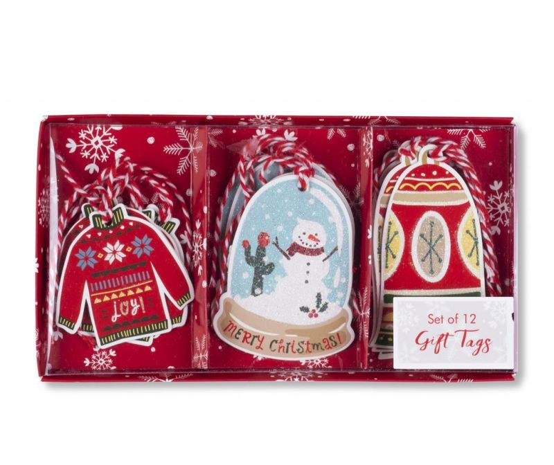 Set 12 etiketa za poklone