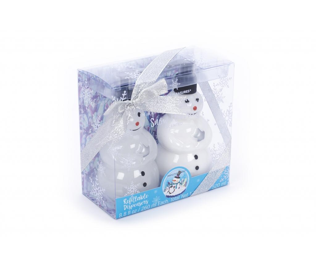 Set 2 losiona za ruke Snow Globes