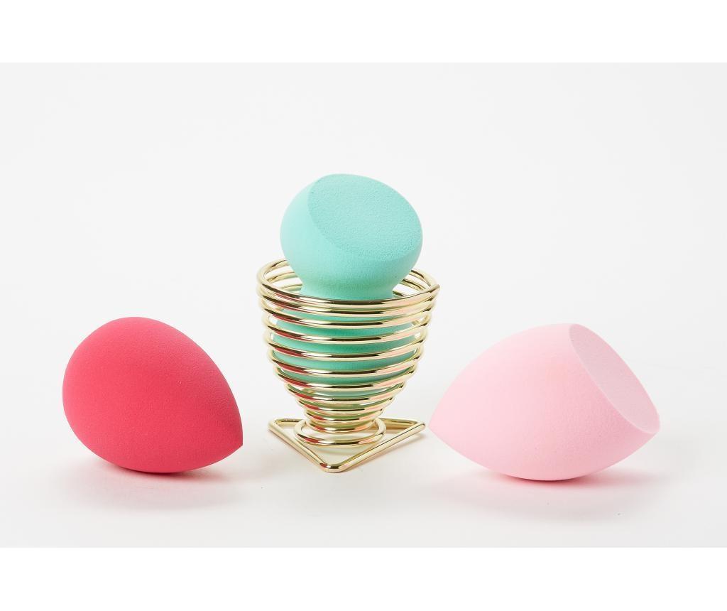 Set 3 lepotilnih gobic in držala Juicy Couture
