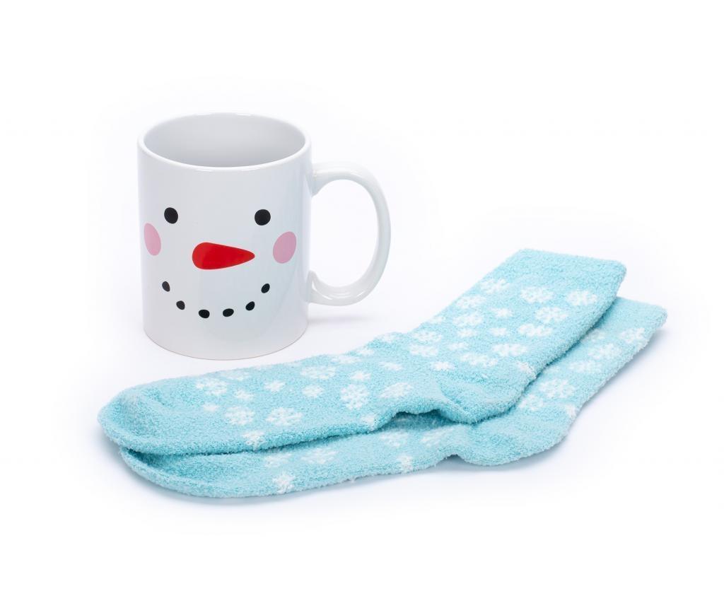Set šalica i par čarapa Blizzard Blues