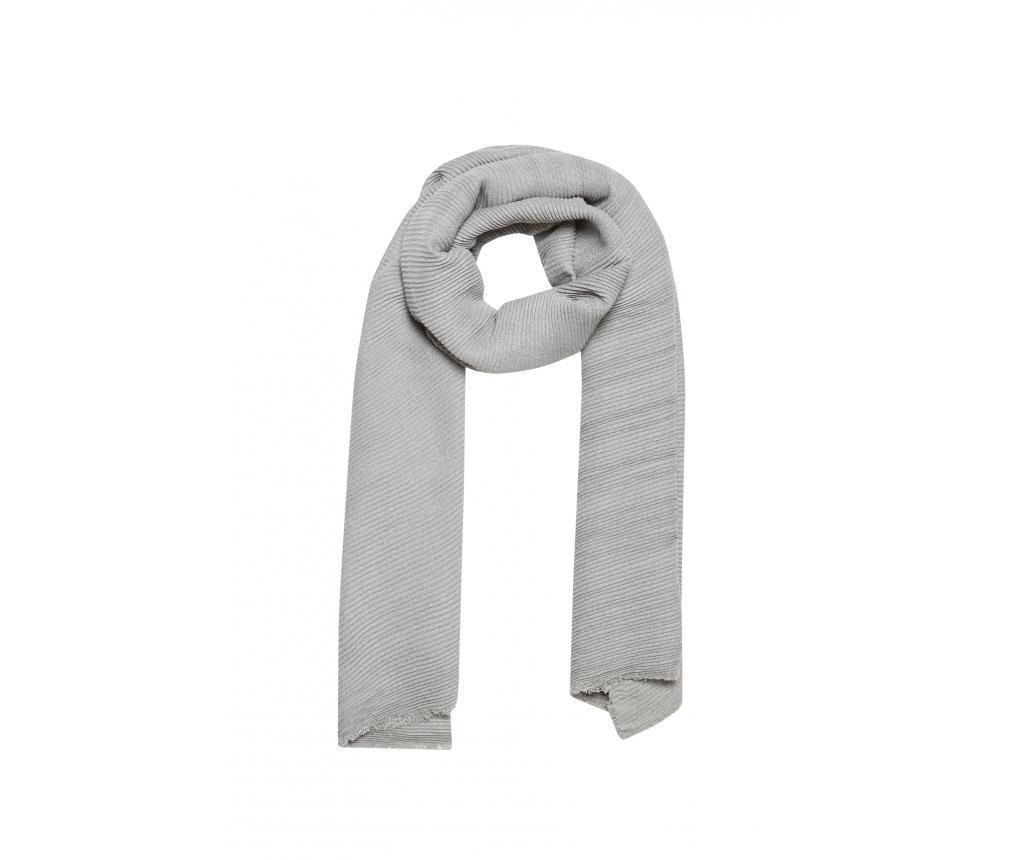 Ženski šal Melly Grey 65x200 cm