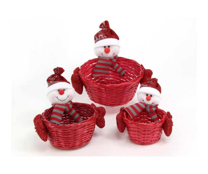 Set 3 dekorativnih košaric