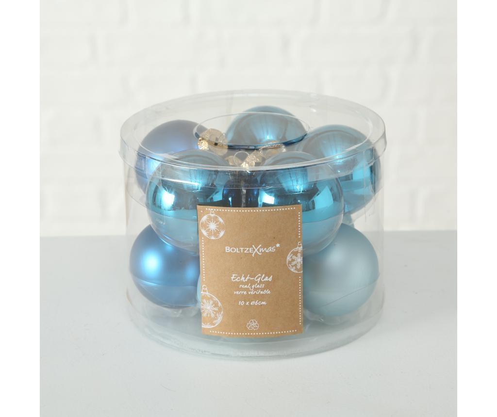 Set 10 Božićnih ukrasa Bluey