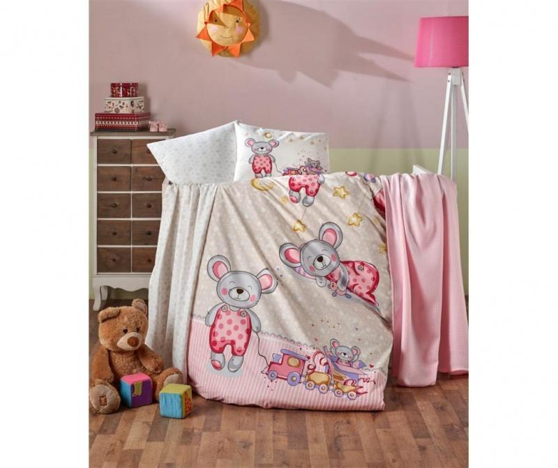 Posteljnina za otroško posteljico Edy Girl