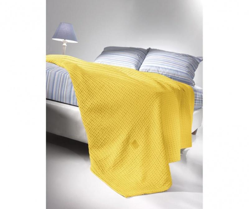 Odeja Crystal Yellow 230x260 cm