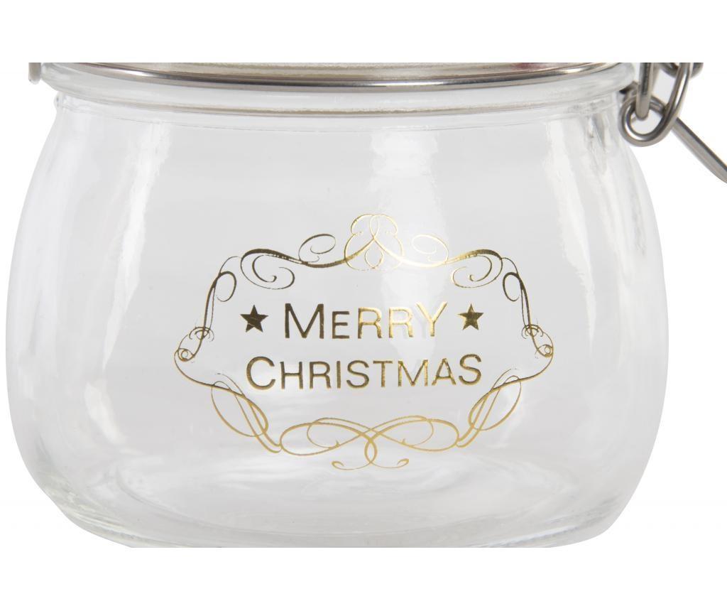 Staklenka Christmas 500 ml
