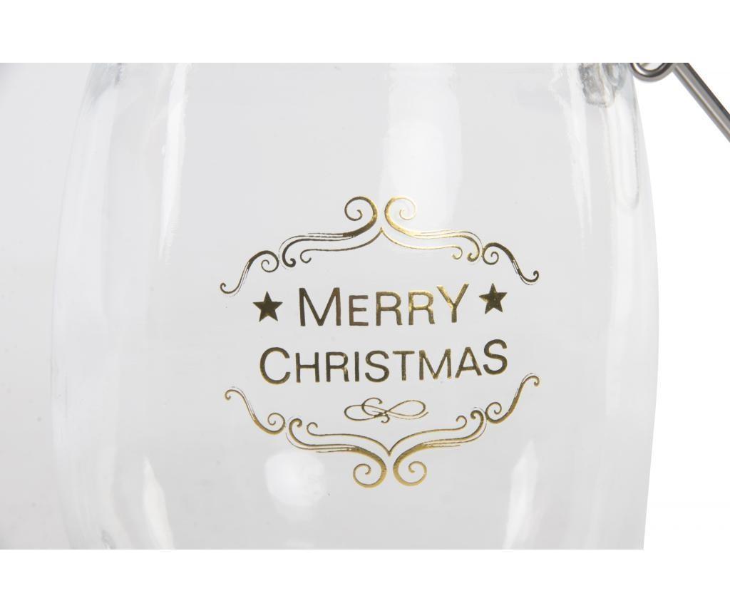 Staklenka Christmas 750 ml