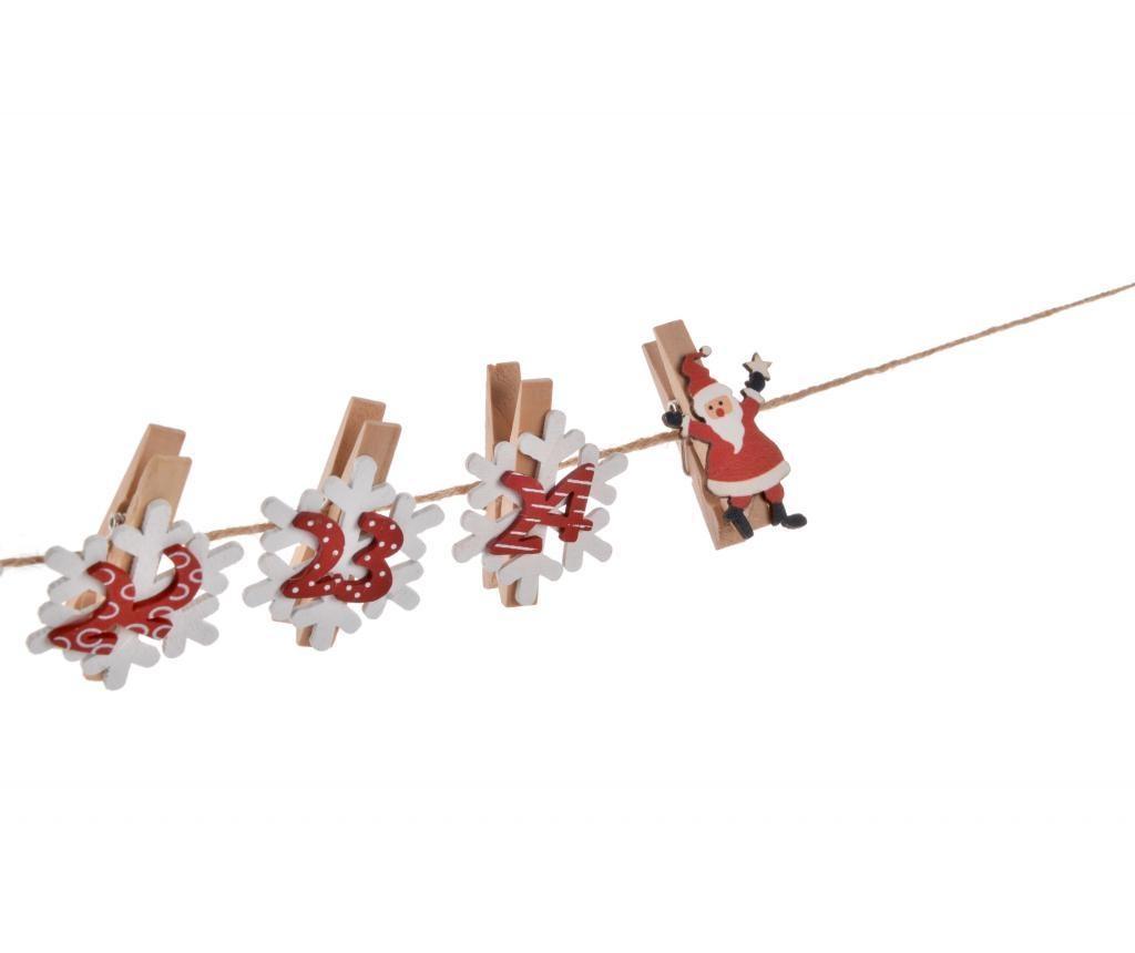 Set 26 kvačice za rublje Christmas