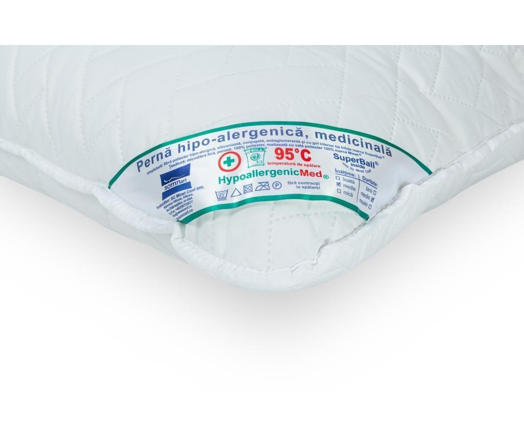 Prošiveni jastuk HypoallergenicMed 70x70 cm