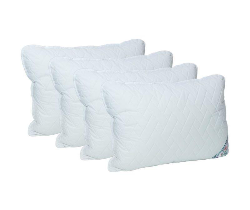 Set 4 prošivena jastuka HypoallergenicMed 50x70 cm