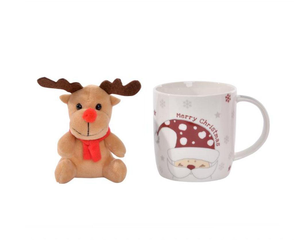 Set šalica i igračka Reindeer