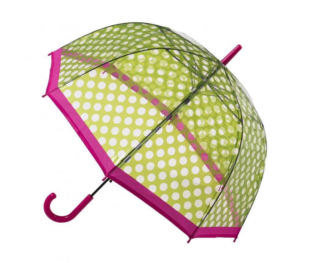 Kišobran Dome Spots Green/Pink