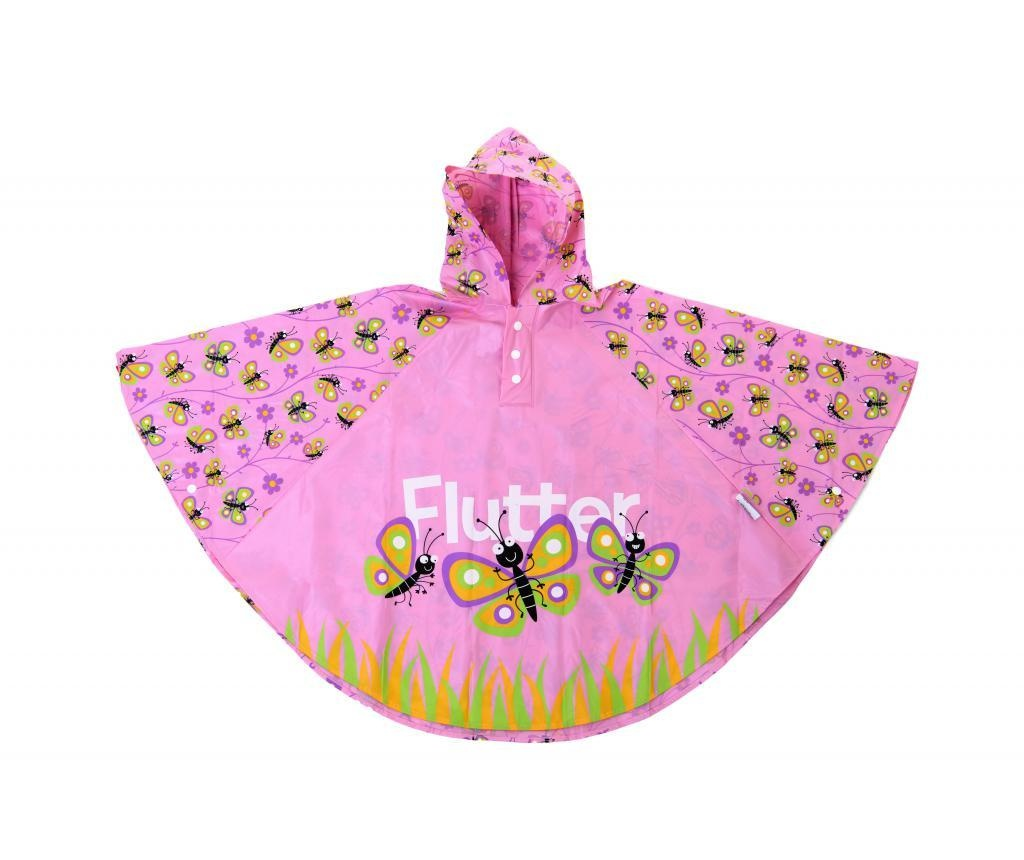 Pončo za otroke Butterfly 3-6 let