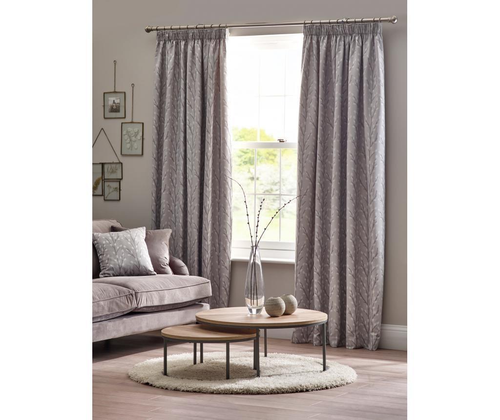 Set 2 zavjese Sienna Grey 168x137 cm