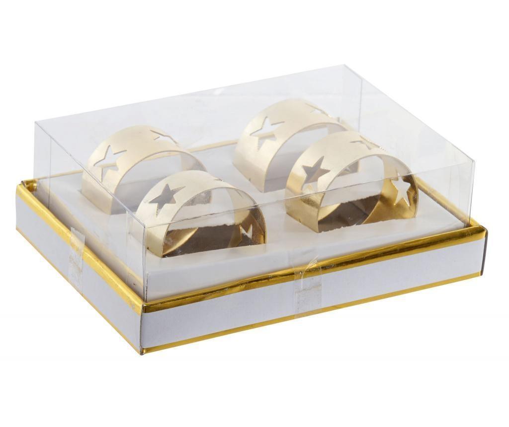 Set 4 obročkov za prtičke