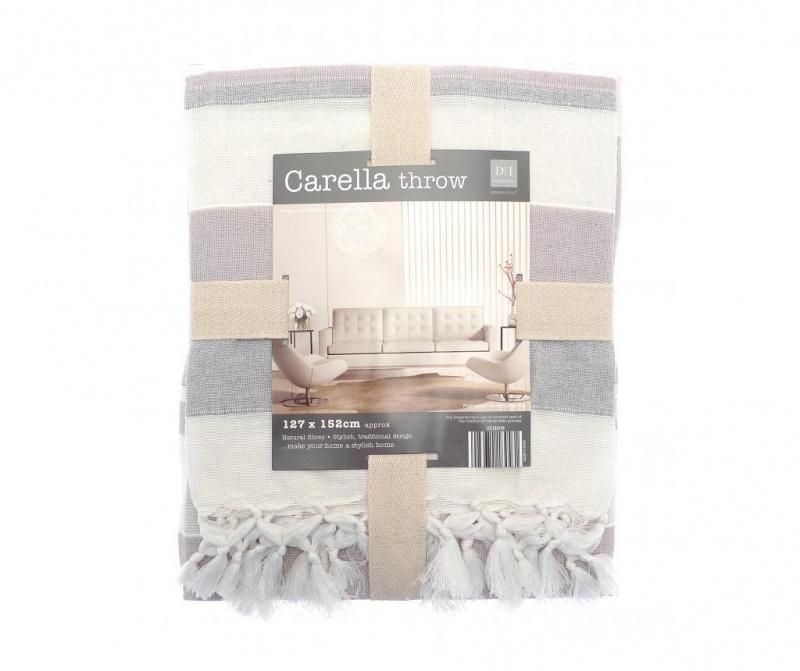Priročna odeja Carella Stripe 127x152 cm